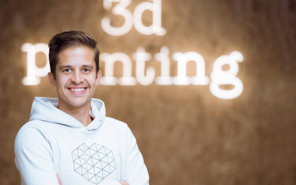 Filemon Schöffer - Directeur marketing, 3D Hubs, Amsterdam, Pays-Bas.